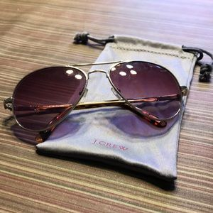 J. Crew Aviator Sunglasses for sale